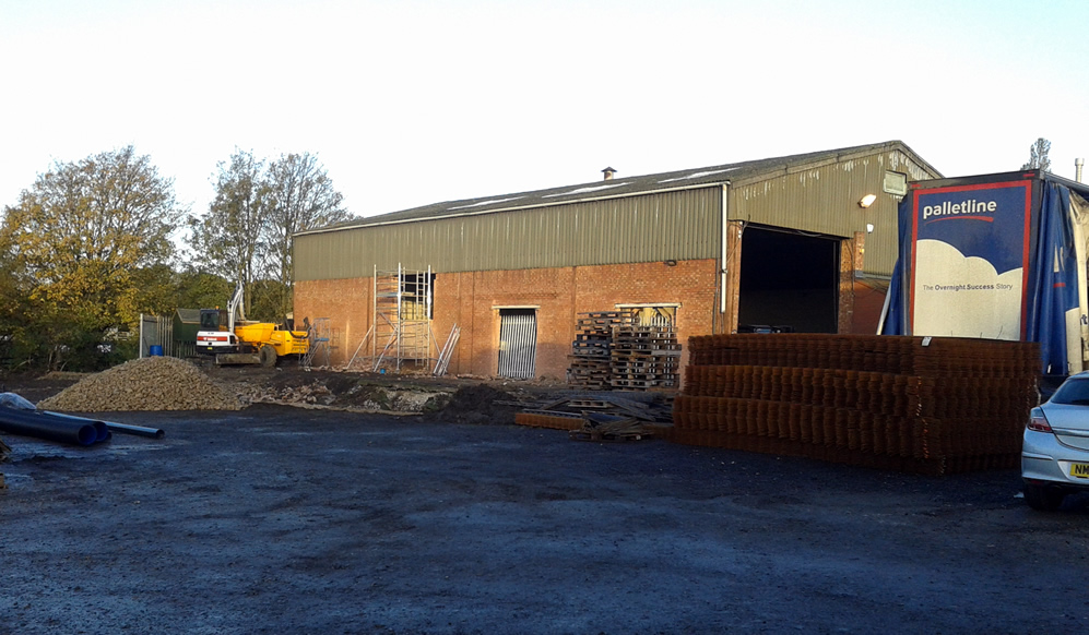 Caistor Distribution warehouse extension